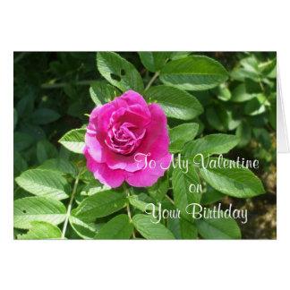 Geburtstags-Valentinsgruß-Gruß Karte