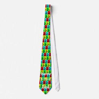 Geburtstags-Vati, moderne Wein-Krawatte Krawatte