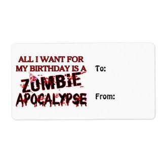 Geburtstags-Zombie-Apokalypse