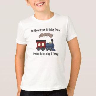 Geburtstags-Zug-Shirt T-Shirt