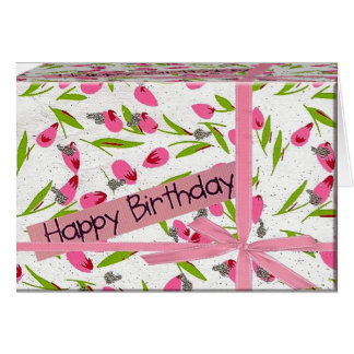 Geburtstagsgeschenk Grußkarte