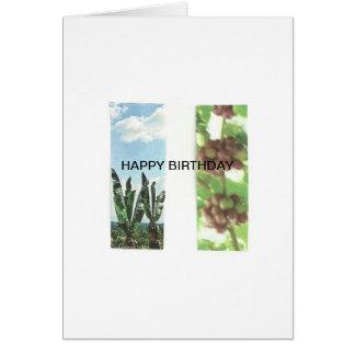 Geburtstagsgrüße Karte