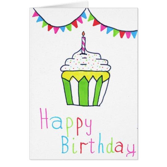 Geburtstagskarte Grußkarte
