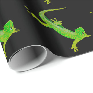 Gecko Geschenkpapier