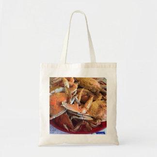 Gedämpfte Krabben-Taschen-Tasche Tragetasche