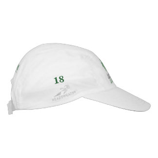 Gedenkgolf-Hut 18 Jahrbuch-Patricia Snyder! Headsweats Kappe