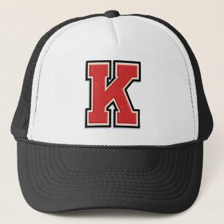 """Gedenkwürdiges """"K """" Truckerkappe"""