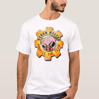 Gedränge-Meister - schützen Sie das Team! T-Shirt