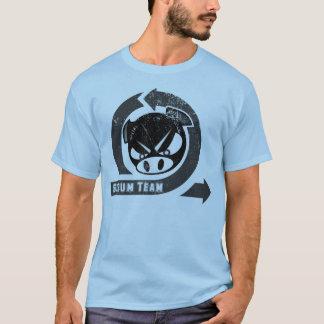Gedränge-Team mit beweglichem u. Schwein T-Shirt
