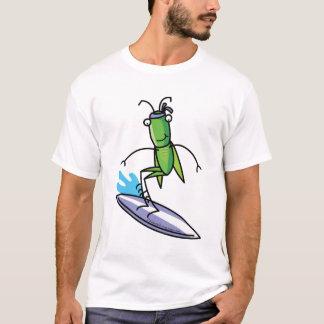 Geduld, Heuschrecken-surfendes T-Shirt