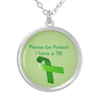 Geduldige TBI Halskette