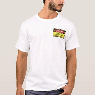 Gefahr: Neuer Vati T-Shirt