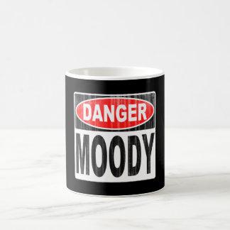 Gefahr schwermütig kaffeetasse