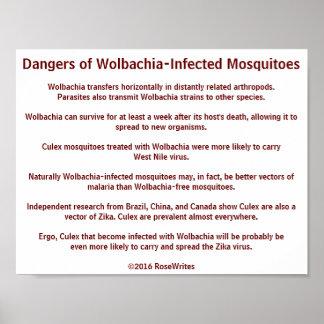Gefahren von Wolbachia Moskitos durch RoseWrites Poster