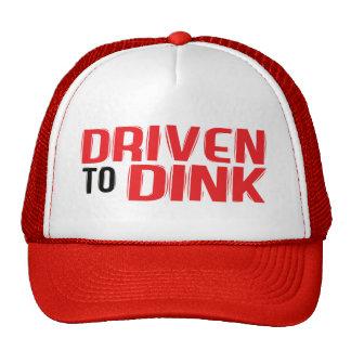 """""""Gefahren zu Dink"""" Pickleball Hut Trucker Caps"""