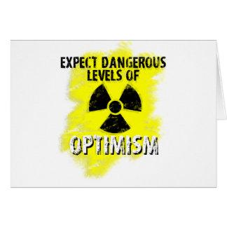 gefährlicher Optimismus Karte