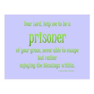 Gefangener Ihrer Anmut Postkarte