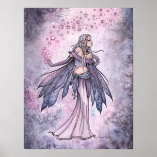 Gefangengenommenes Himmel-lila feenhaftes Poster