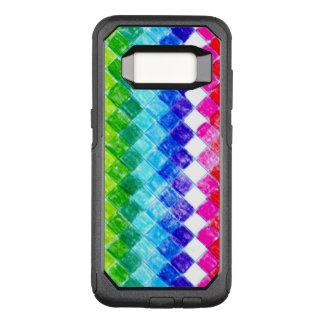 Gefärbt in den Quadraten OtterBox Commuter Samsung Galaxy S8 Hülle