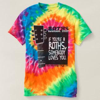 Gefärbte Krawatte T-shirt