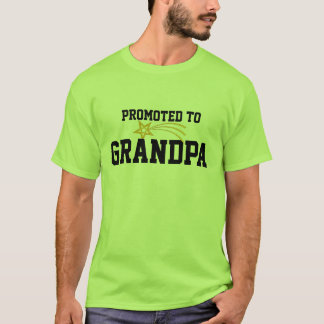 Gefördert zum Großvater-T - Shirt