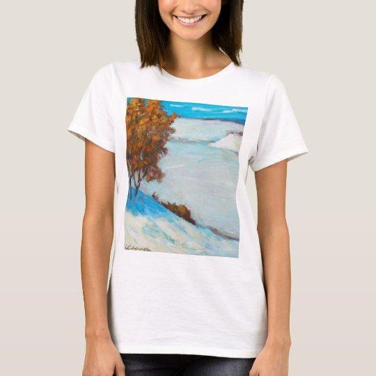 Gefrorener Fluss T-Shirt