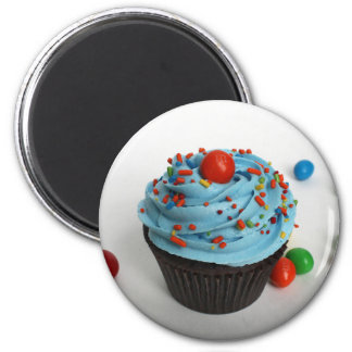 gefrorener kleiner Kuchen Runder Magnet 5,1 Cm