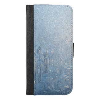 gefrorenes Muster iPhone 6/6s Plus Geldbeutel Hülle