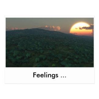 Gefühle (volles HD), Gefühle… Postkarte