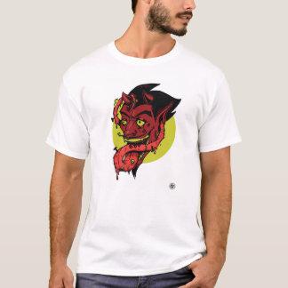Gegabeltes Zunge-T-Stück T-Shirt