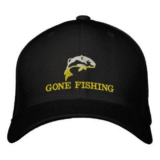 Gegangene fischenfishermans bestickte kappe