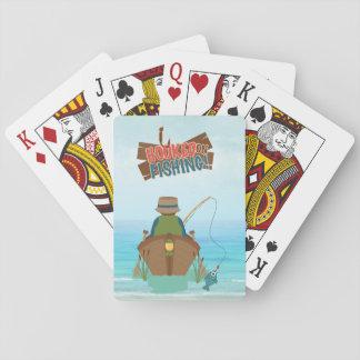 Gegangene fischenSpielkarten Spielkarten