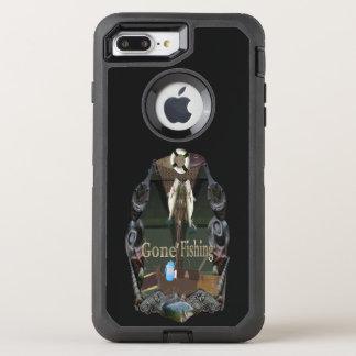 Gegangene Fischerei OtterBox Defender iPhone 8 Plus/7 Plus Hülle