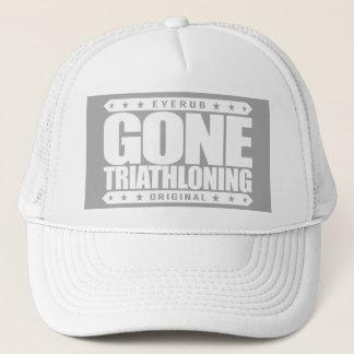 GEGANGENE TRIATHLONING - Ein stolzes u. Truckerkappe