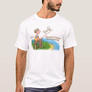 Gegangener fischenruhestand T-Shirt