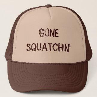 Gegangener Squatchin Hut Truckerkappe
