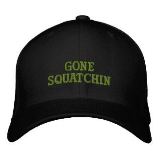 Gegangenes Squatchin Bestickte Baseballkappe