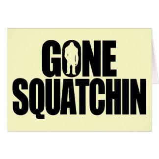Gegangenes Squatchin Karte