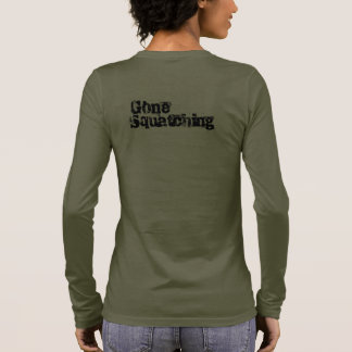 gegangenes Squatching Langarm T-Shirt