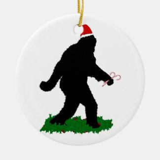 Gegangenes Weihnachten, gegangenes Squatchin Keramik Ornament