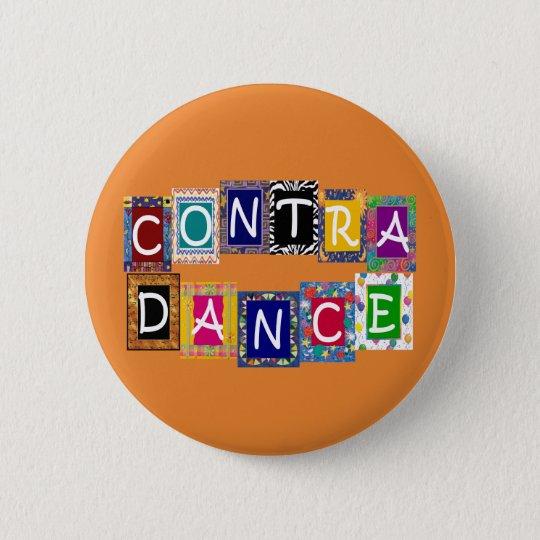 Gegen Knopf des Tanz-II Runder Button 5,1 Cm