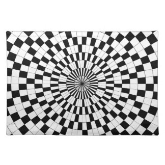 GegenSpiralen durch Kenneth Yoncich Stofftischset