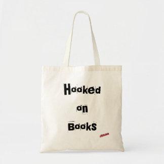 Gehakt auf Buch-Budget-Taschen-Tasche Budget Stoffbeutel