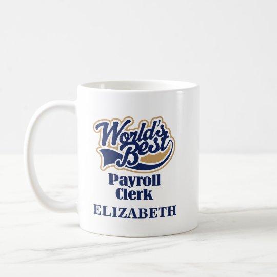 Gehaltsabrechnungssekretärs-personalisiertes Tasse