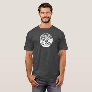 Gehämmertes Münzent-shirt, perfektes Metall, das T-Shirt