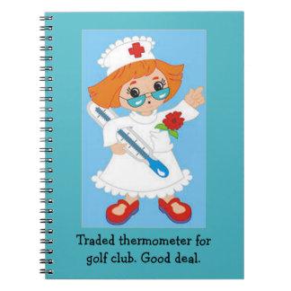 Gehandelter Thermometer für Golfclub - gutes Notizblock