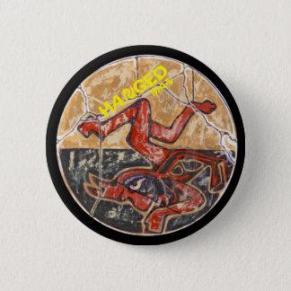 Gehangene Mannfarbe - fantastischer Mexiko-Knopf Runder Button 5,1 Cm