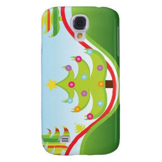 Gehäuse der Weihnachtsbäume 3 Galaxy S4 Hülle
