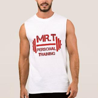 GEHEILIGTES Mr.T persönliches Training IST THY Ärmelloses Shirt