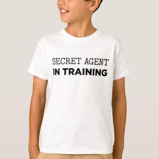 Geheimer Agent im Training T-Shirt